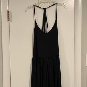 American Eagle Black Strappy Dress